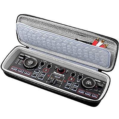 COMECASE Hard Travel Case for Numark DJ2GO2 | Pocket DJ Controller - Protective Carrying Storage Bag by COMECASE