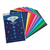 Spectra PAC59530BN Deluxe Bleeding Art Tissue, Assorted Colors, 12' x 18', 100 Sheets Per Pack, 3 Packs