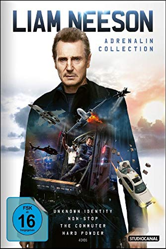 Liam Neeson Adrenalin Collection [4 DVDs]