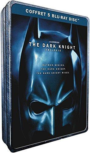 The Dark Knight Trilogy (Jumbo Steelbook) [5 Blu-rays]