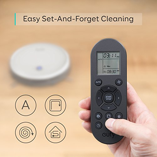 eufy by Anker,BoostIQ RoboVac 11S (Slim), Robot Vacuum Cleaner, Super-Thin, 1300Pa Strong Suction, Quiet, Self-Charging Robotic Vacuum Cleaner, Cleans Hard Floors to Medium-Pile Carpets