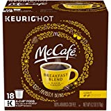 McCafe Breakfast Blend 100% Arabica Keurig K-Cup Coffee Pods (72 Count, 4 Boxes of 18)