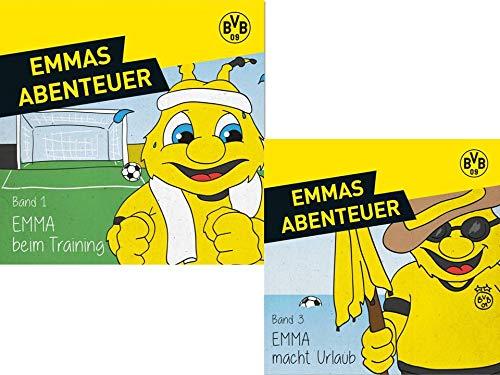 Emmas Abenteuer BVB Borussia Dortmund + Sticker Dortmund Forever Emma (Emma Macht Urlaub)