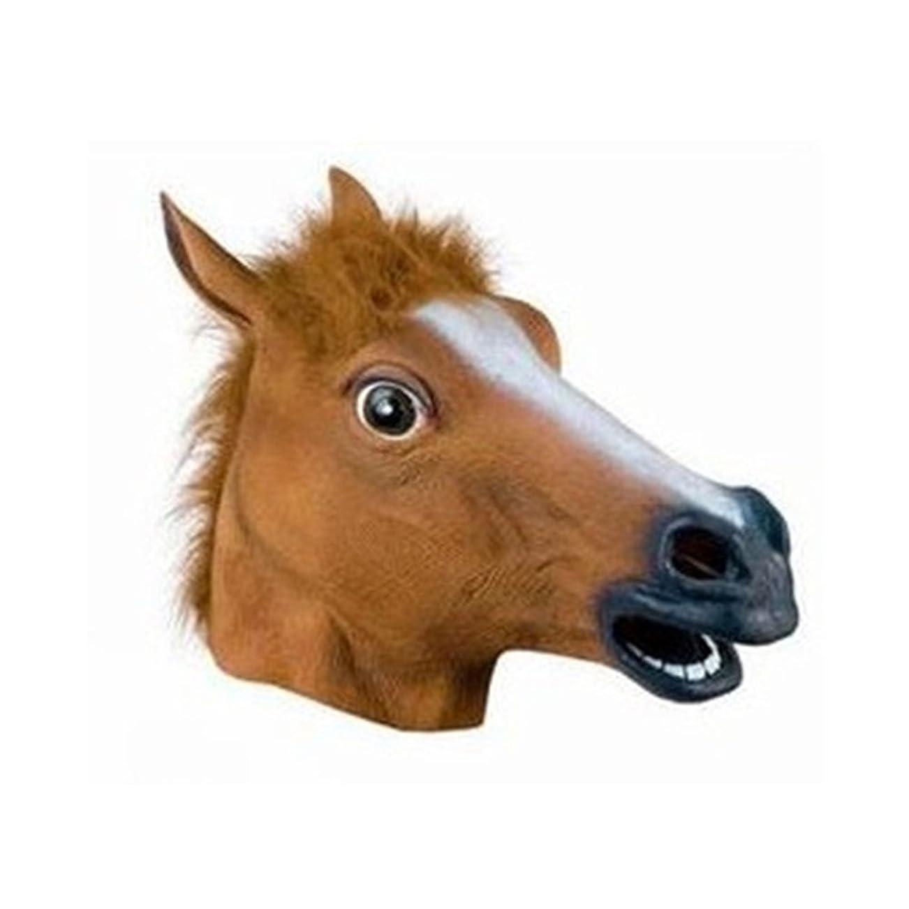 表面的な応用解釈する犬の馬6月ハロウィーン動物のヘッドギアCOSマスク馬のヘッドマスク