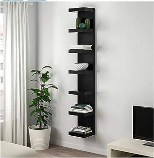 Lack IKEA - Estantería (190 x 30 x 10 cm), color negro y marrón
