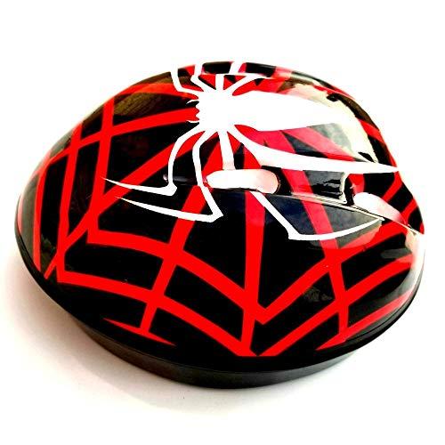 Skate beschermende uitrusting verstelbare Spider-man helm Cycling schaatsen beschermende uitrusting Skateboarding skates, Red spiderman_