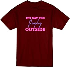 VOTANTA It's Way Too Peopley Outside Introvert Antisocial Gift T-Shirt