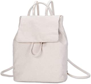 Simple Mini Backpack for Women,Canvas Cute Backpacks Purse for Teen Girls,Fashion Bookbags