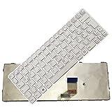 Bucom Teclado para Sony Vaio SVE11 SVE1111 SVE 1112 SVE11125CC SVE11115ECB QWERTZ DE Keyboard Blanco