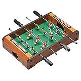 elasto Futbolín Mini Soccer con 12 jugadores, incluye 2 pelotas de 50 x 31 x 10 cm