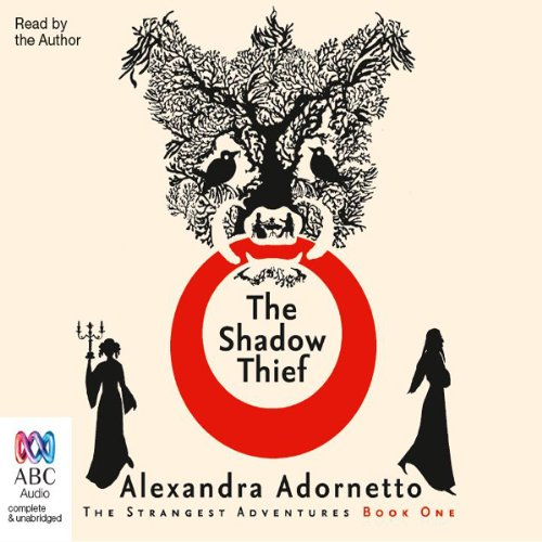The Shadow Thief audiobook cover art