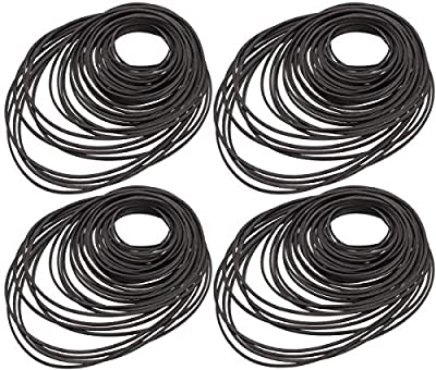 Cassette Tape Belt,Biluer 180PCS Mix Machine Square Belt Tape Machine Belts Universal Repair Belt For Recorders Video Machines Walkman DVD Drive