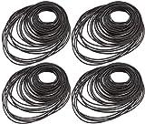 Cassette Tape Belt,Biluer 180PCS Mix Universal Gummi Riemenscheibe Mix Kassettenband Maschine Square Belt Universal Repair Belt für Recorder DVD Laufwerk