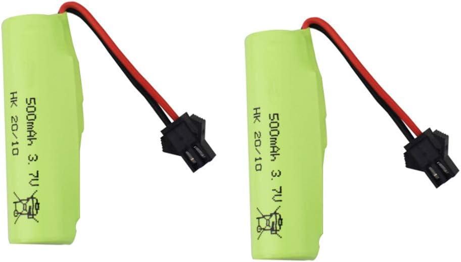 Product Fytoo 2PCS 3.7V 500mah Lithium Battery for DE38 DE40 DE35 D DE50 At the price of surprise