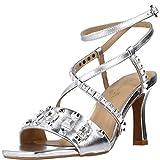 Sandalias de tacón de Mujer Alma en Pena Color Plata. V21257 NAPA Silver - Talla: 37