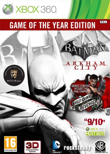 Batman Arkham City - Game Of The Year