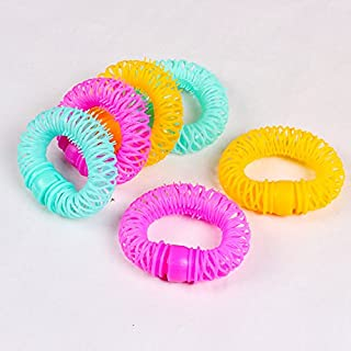 Hair Styling Roller for Women, Donuts Plastic Curler Manual Styling Tools DIY(S?
