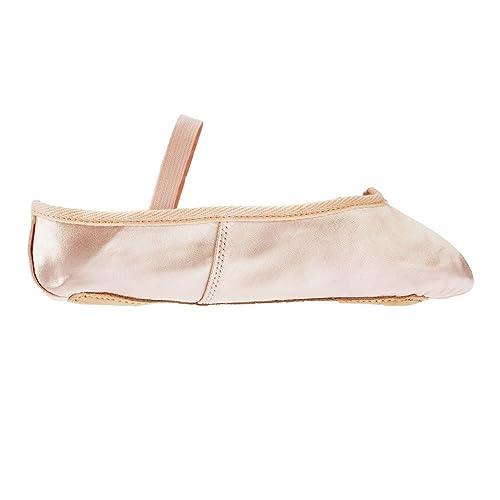 62ba14953903 Starlite Pink Basic Satin Ballet Shoes