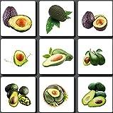 20 Pezzi Avocado Semi per giardinaggio all'aperto Piantare frutti verdi estivi Decorare il cortile Frutti antichi non OGM facili da raccogliere