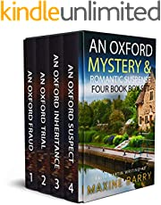 AN OXFORD MYSTERY & ROMANTIC SUSPENSE FOUR-BOOK BOX SET four utterly gripping page-turners (Totally Fabulous Mystery and Suspense Box Sets 2)