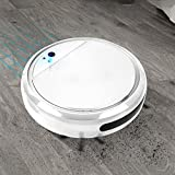 N/A. <span class='highlight'><span class='highlight'>Vacuuming</span></span> Robot 4 in 1 Robot Vacuum Cleaner Smart Sweeper USB Rechargeable Sweeping Robot UV Sterilizer Strong Suction Floor Cleaner with 6 Corner Edge Brush Bi-directional Ash Gathering (White)
