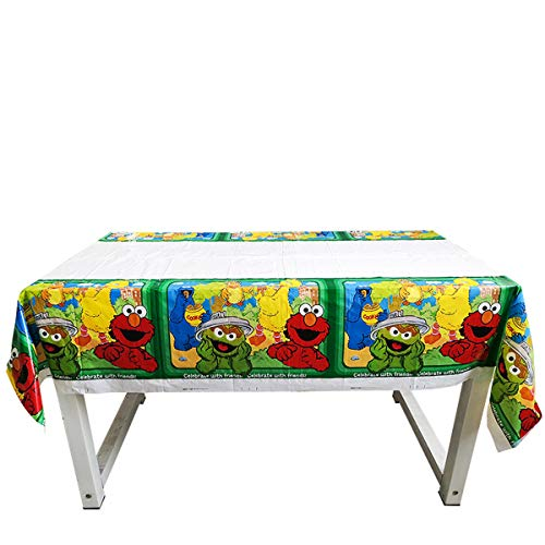 Sesame Street Party Tablecloth |70.8 x 42.5 Inch| Sesame Street Party Supplies