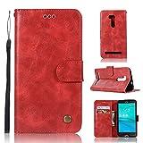 Guran® Housse en Cuir PU pour ASUS ZenFone Go ZB551KL (5.5 Pouces) Smartphone Flip Cover...