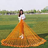 Adl Hand Cast Easy Throw Fly Fishing Net Catch Fish - Colorful Strong