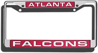 NFL Laser Chrome Plate Frame