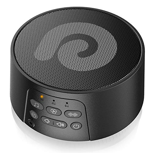 Dreamegg ホワイトノイズマシン バッテリー内蔵 29種癒し音 高音質 無段階音量調節 イヤホン対応 騒音対策 快眠グッズ 不眠対策 赤ちゃん 泣き止め 寝かしつけ D3 Pro