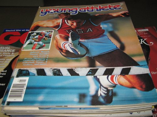 Young Athlete Magazine (Bruce Jenner , Johnny Bench Poster , Slick Watts, May/June 1976)