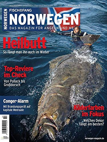 Norwegen-Magazin 14 + DVD: Das Magazin für Angeln und Meer (Norwegen Magazin / Das Magazin für Angeln und Meer)