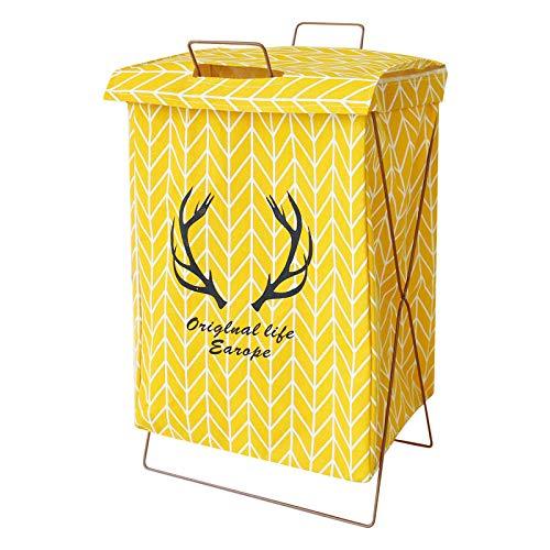 Soporte plegable a prueba de humedad cesta de ropa sucia de almacenamiento de ropa de algodón y lino sucio cesta de almacenamiento de ropa sucia cesta de ropa sucia