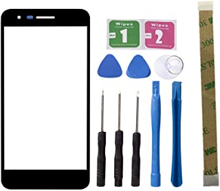 Replacement Repair Front Outer Top Glass Lens Cover Screen For LG K8 2018 X210 Aristo 2 Mobile Phone Curved Surface Parts (NO LCD and Touch Digitizer)