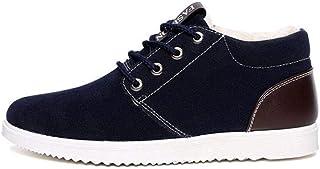 Tasty Life Bottes De Neige pour Hommes, Chaussures pour Hommes en Hiver, Plus De Velours Chauds, Chaussures en Coton, Bott...