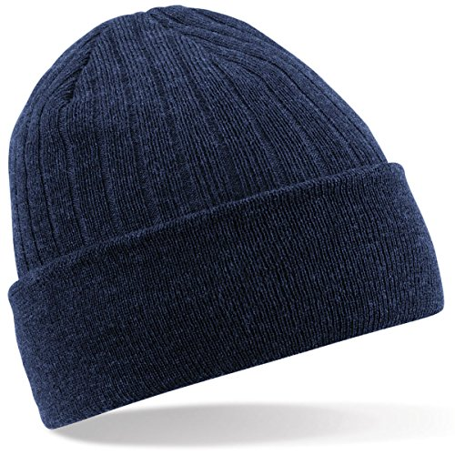 Beechfield - Bonnet - Homme taille unique - Bleu - Bleu marine - Taille unique
