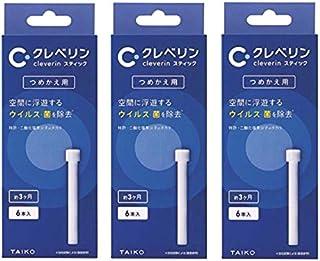 【まとめ買い】 大幸薬品 クレベリンスティック つめかえ用 (スティック6本入り) ×3箱