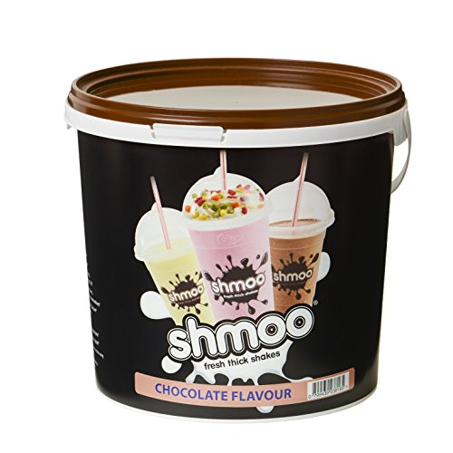 Chocolate Shmoo Milkshake Mix 1.8kg Tub with FREE Cups, Lids & Straws (Large Cup Pack) (Large Cup Pack)