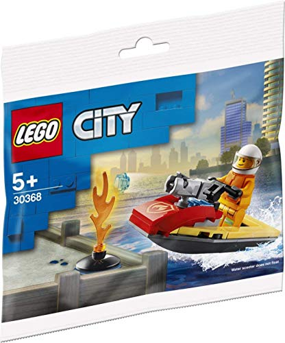 LEGO® - Sets - City - 30368 - Feuerwehr Scooter