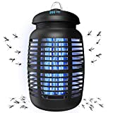 [2 in 1] Bug Zapper & Attractant - Effective 4250V Electric Mosquito...