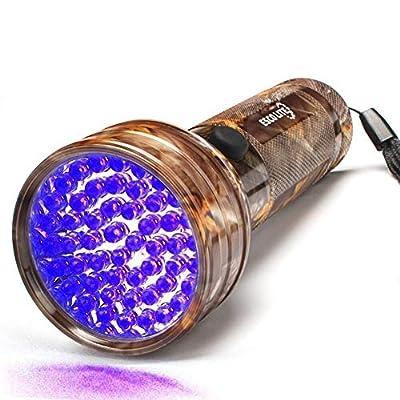 Escolite UV Flashlight Black Light, 51 LED Camo...
