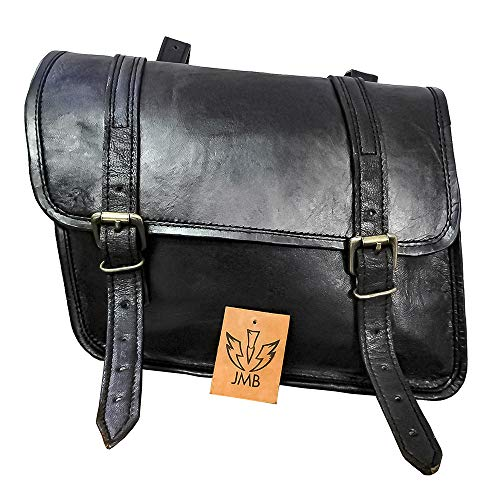 Borsa laterale Vintage per Royal Enfield Interceptor 650 Craftride SV6 nero