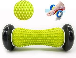 Foot Massager Roller - Foot Roller for Plantar Fasciitis, Heel & Foot Arch Pain Relief (Black)