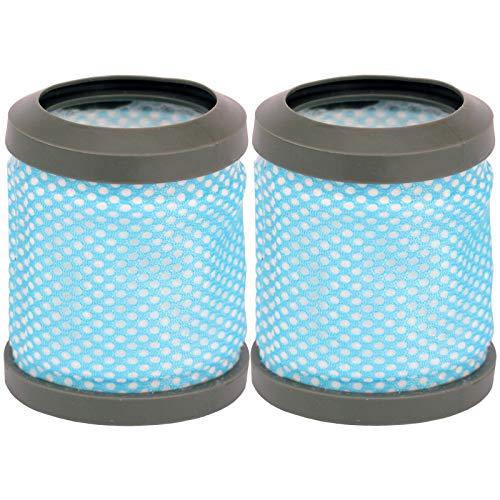 SPARES2GO Lot de 2 filtres d'échappement post-moteur lavables type T113 pour aspirateur Hoover Freedom FD22