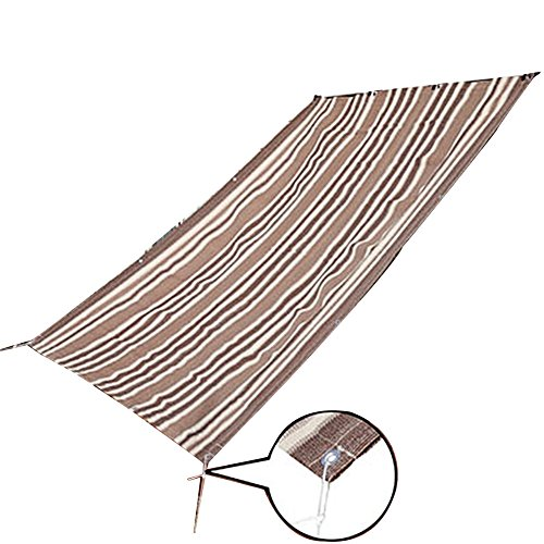 QIANGDA Couverture De Pergola Ombrage 6 Broches Cryptage Filet De Parasol D'été Isolation Thermique Polyéthylène Respirabilité Belvédère, 3 Tailles Optionnel (Taille : 1.8 x 1.8m)