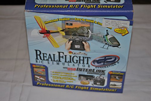 Great Planes Real Flight R/C Simulator Generation 2 G2 with USB Interlink Controller 3021725 NEW