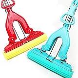 CHENSHUN Eliminación del Polvo Fregona de Esponja Absorbente Fuerte Limpiador de la fregona for Limpiar el Piso Herramientas de Limpieza (Color : Red)