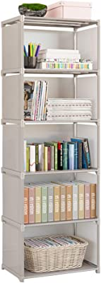 Amazon Com 9 Storage Cubes 4 Tire Shelving Bookcase Cabinet Diy Closet Organizers For Living Room Bedroom Office Gray Furniture Decor,How To Decorate A Desk Chair