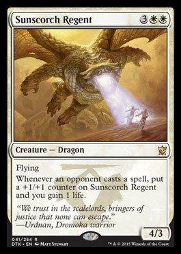 Magic The Gathering - Sunscorch Regent (041/264) - Dragons of Tarkir