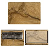 decalrus - Protective Decal Wood Burl Skin Sticker for Asus VivoBook Pro 15-N580VD (15.6' Screen) case Cover wrap ASvivobk15_N580-172